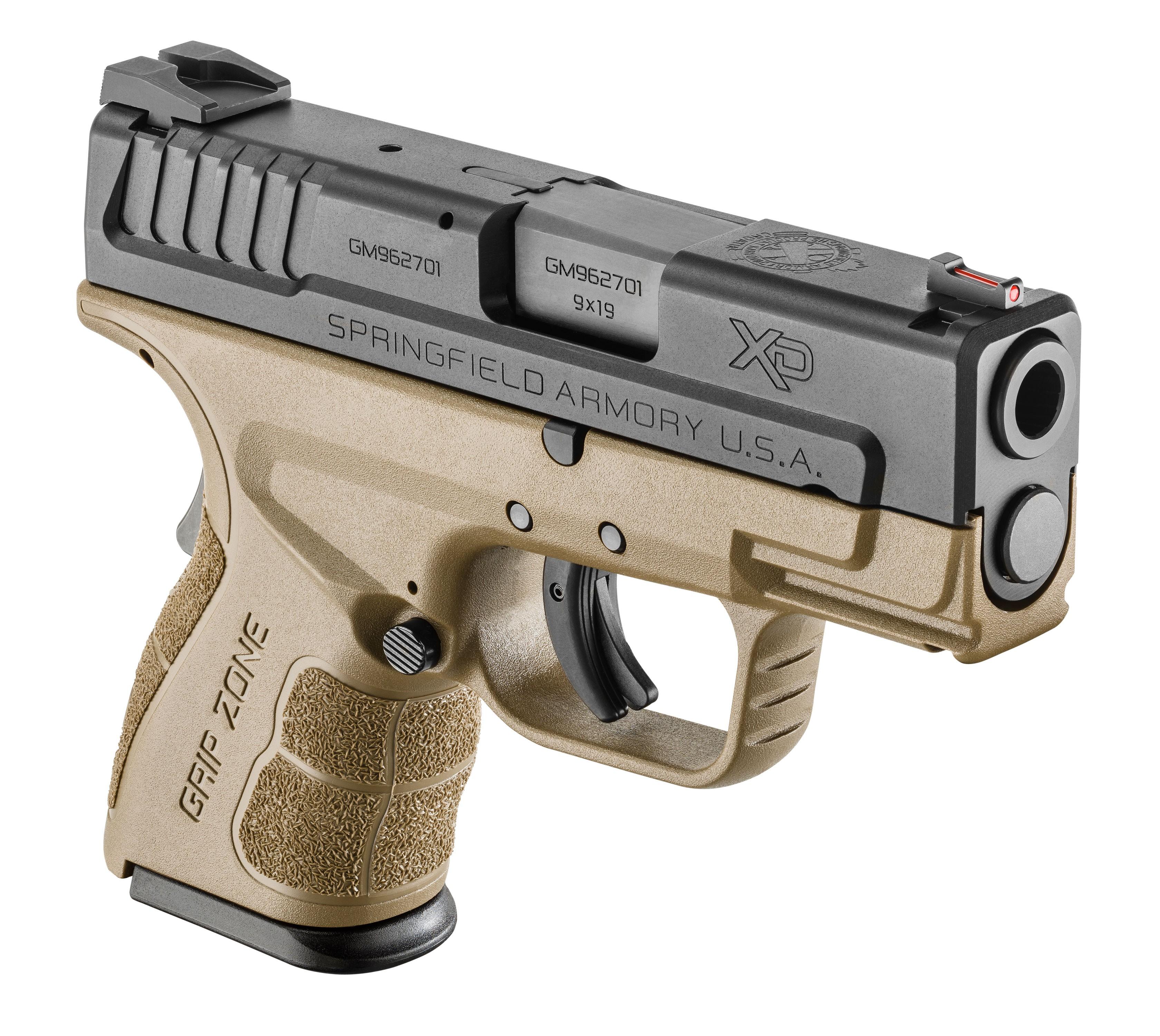 Springfield XDG9801FDEHC XD Mod 2 Sub Compact 9mm Pistol
